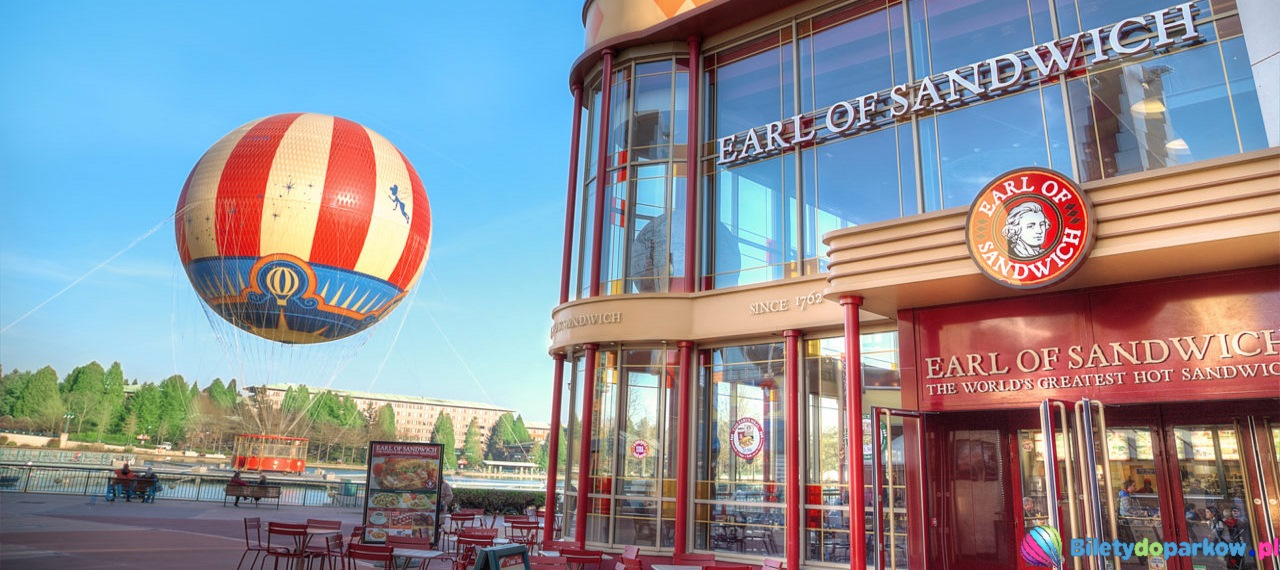 Restauracja Earl of Sandwich w Disney Village